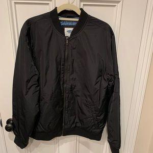 Men's Black Jacket.